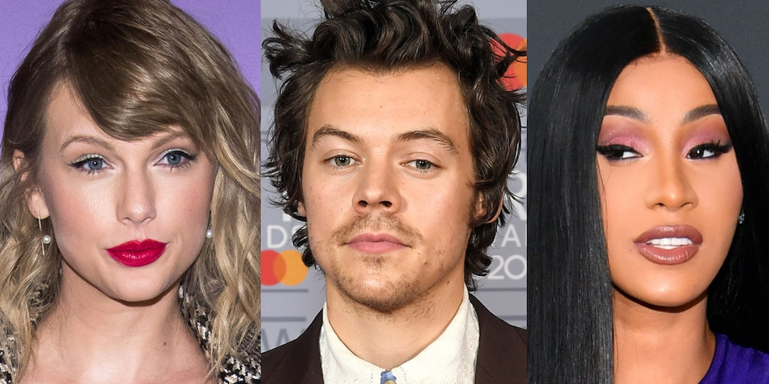 Taylor Swift, Harry Styles, Cardi B and More Stars to Perform at the 2021 Grammys - E! Online.jpg