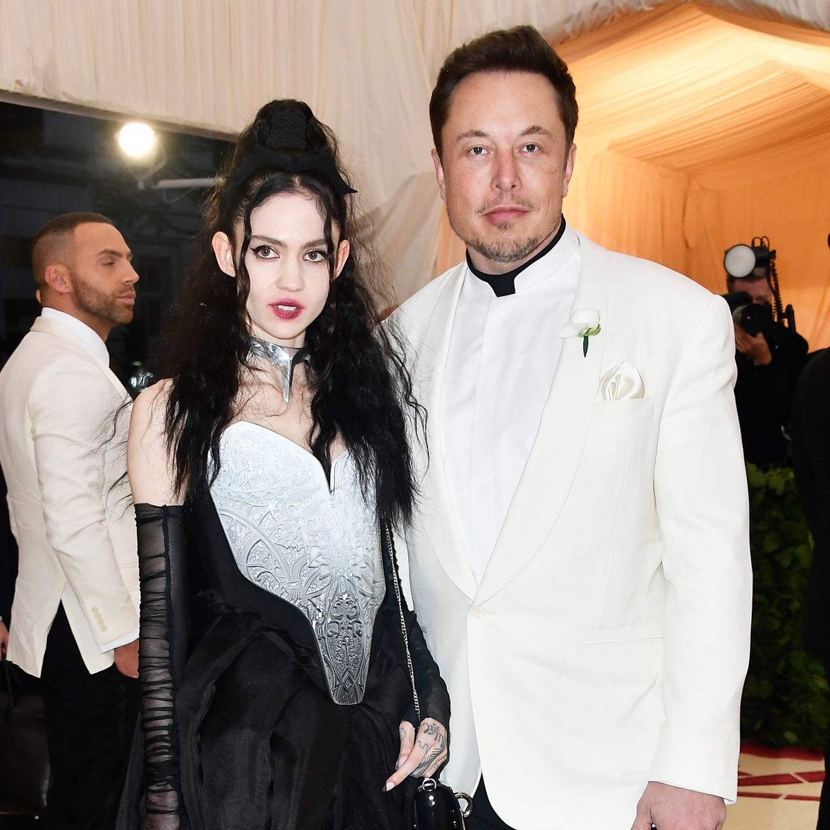 """Elon Musk Shares New Photo of Grimes and Their Baby Boy in Texas City He's Calling """"Starbase"""""""