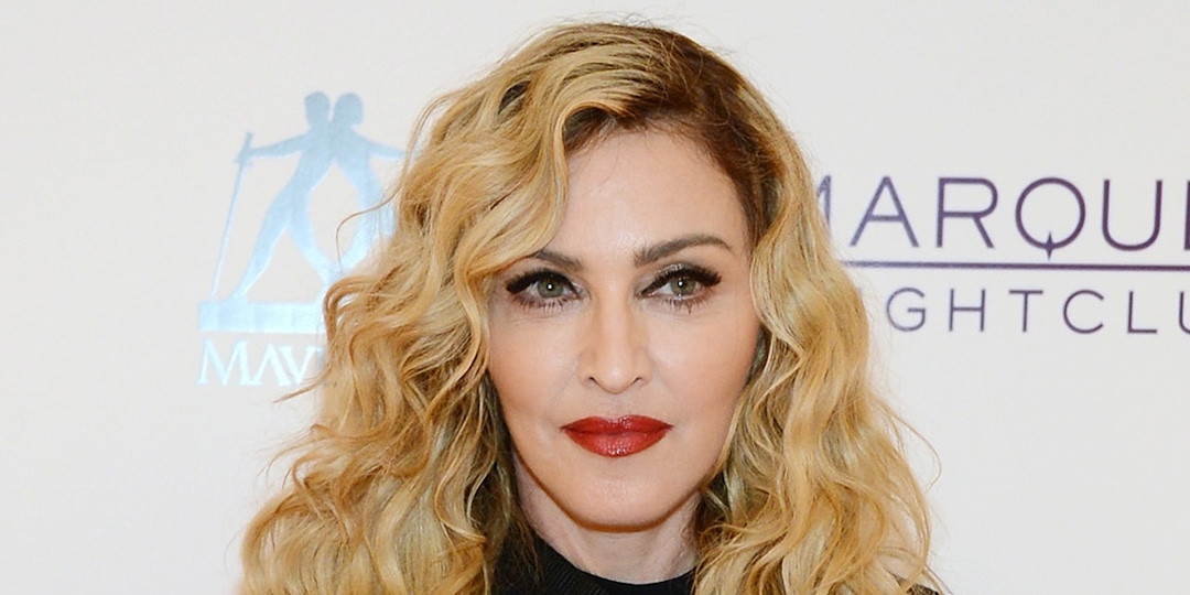 """Distracted Madonna Slammed For Braiding Her Hair During Musical: """"Have Some Manners"""" - E! Online.jpg"""