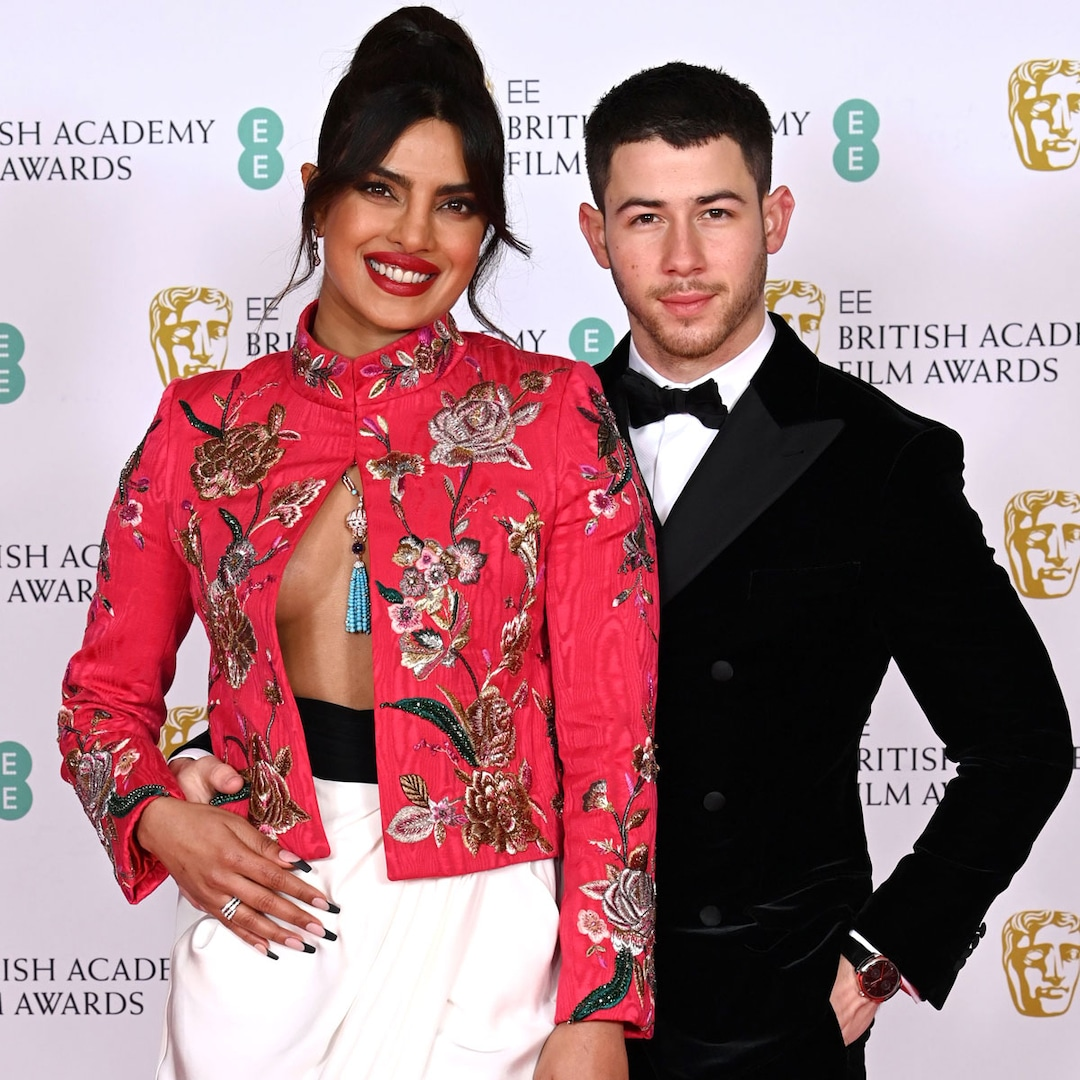 Priyanka Chopra and Nick Jonas Heat Up the 2021 BAFTAs: See Stars' Best Red  Carpet Looks - E! Online - Daily Post USA