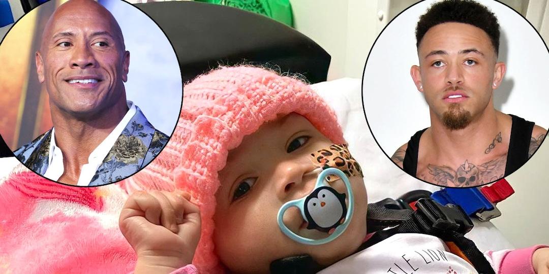 Dwayne Johnson Sends Heartfelt Video to Ashley Cain Amid His Baby Girl's Cancer Battle - E! Online.jpg
