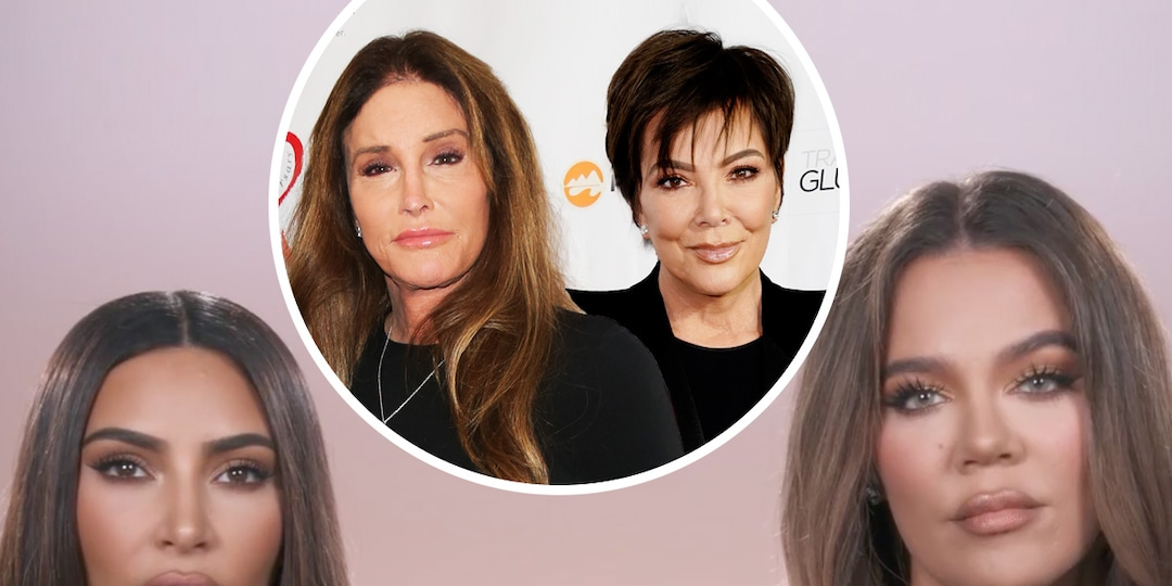 Kim and Khloe Kardashian Reveal Where Kris Jenner Stands With Caitlyn on KUWTK - E! Online.jpg