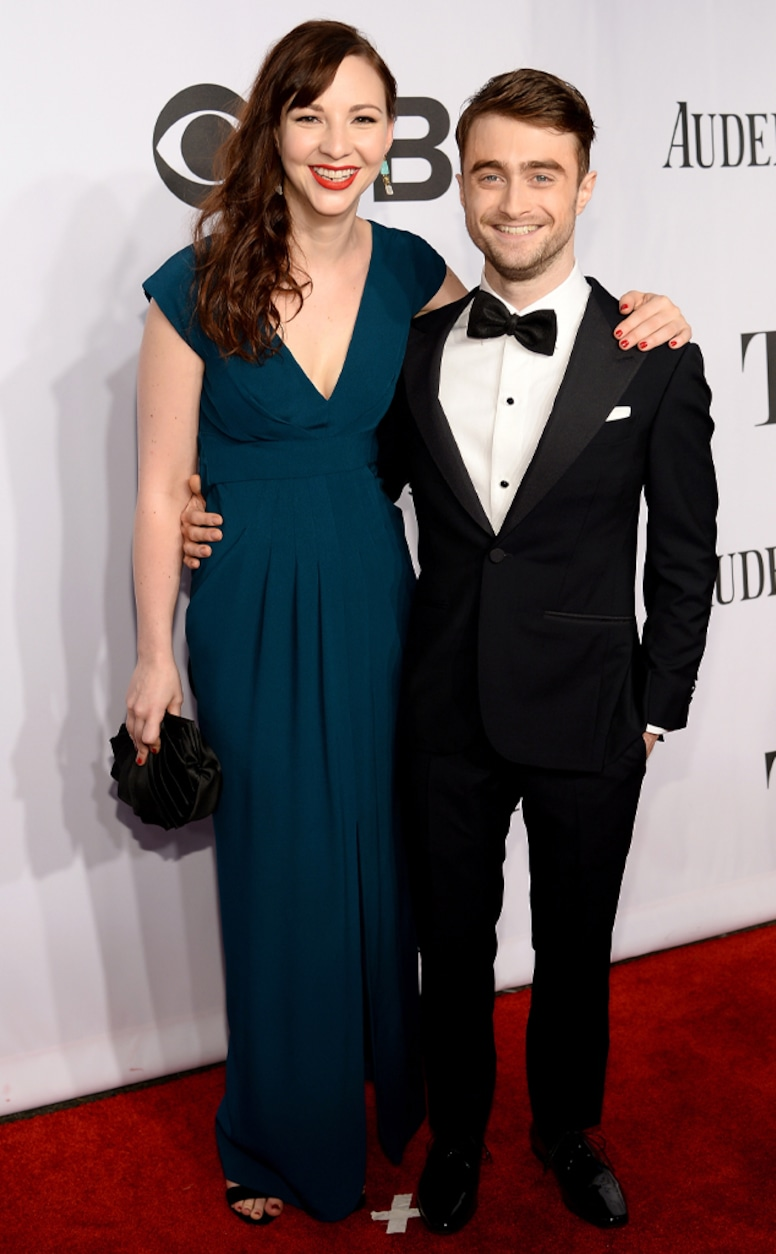 Daniel Radcliffe, Erin Darke, 2014 Tony Awards