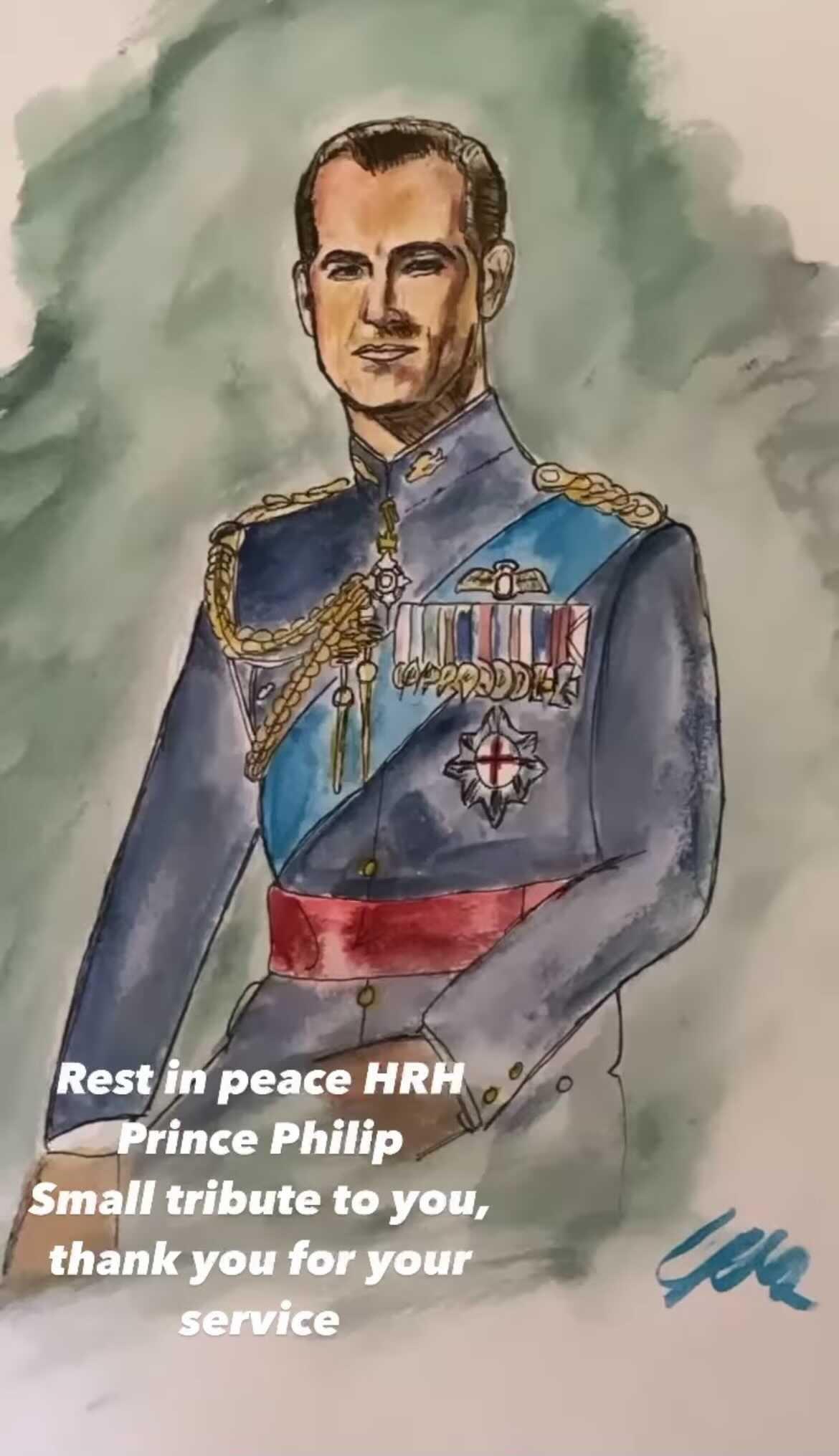 Liam Payne, Prince Philip