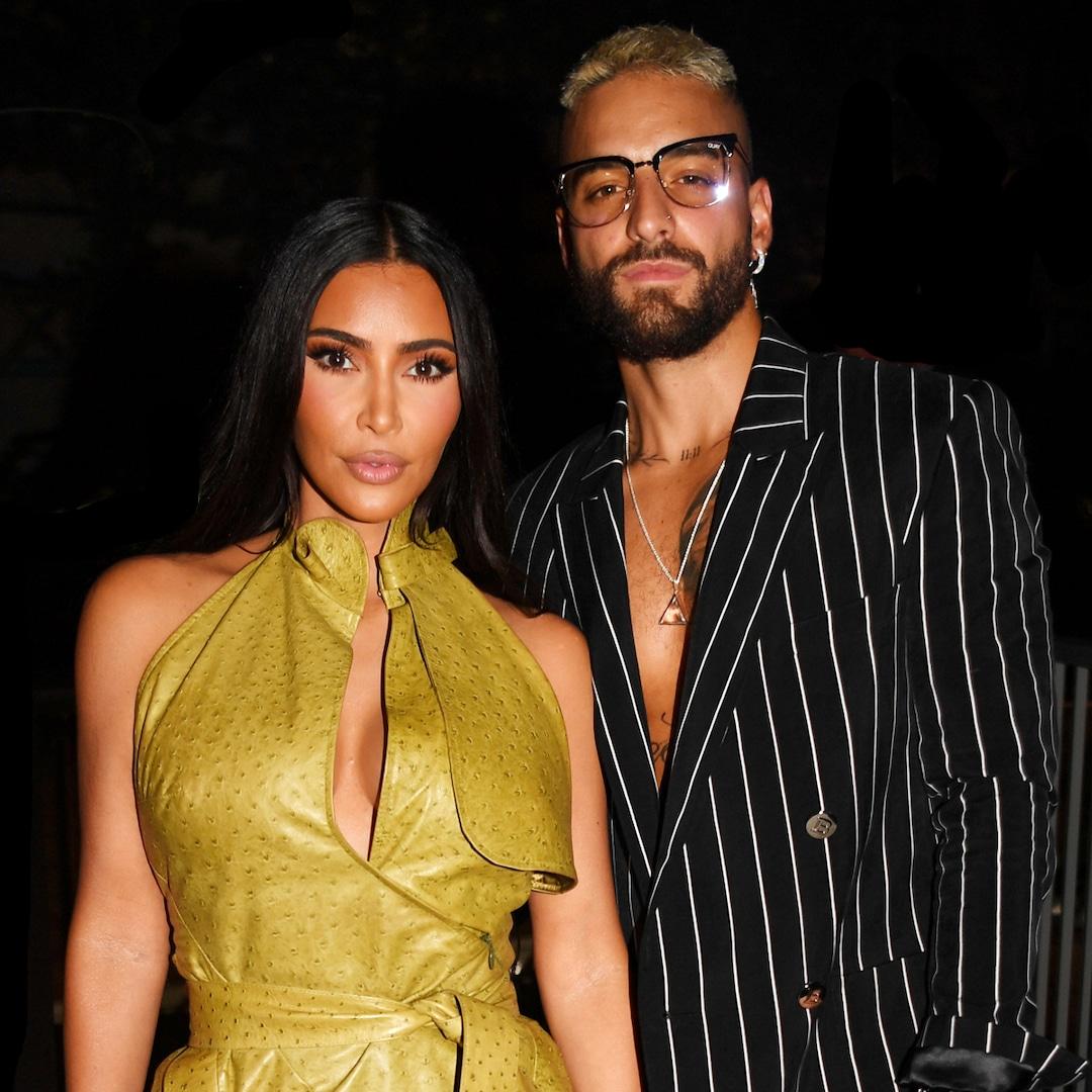 Kim Kardashian curte noitada com Maluma, os Beckhams e outras celebridades - E! Online Brasil