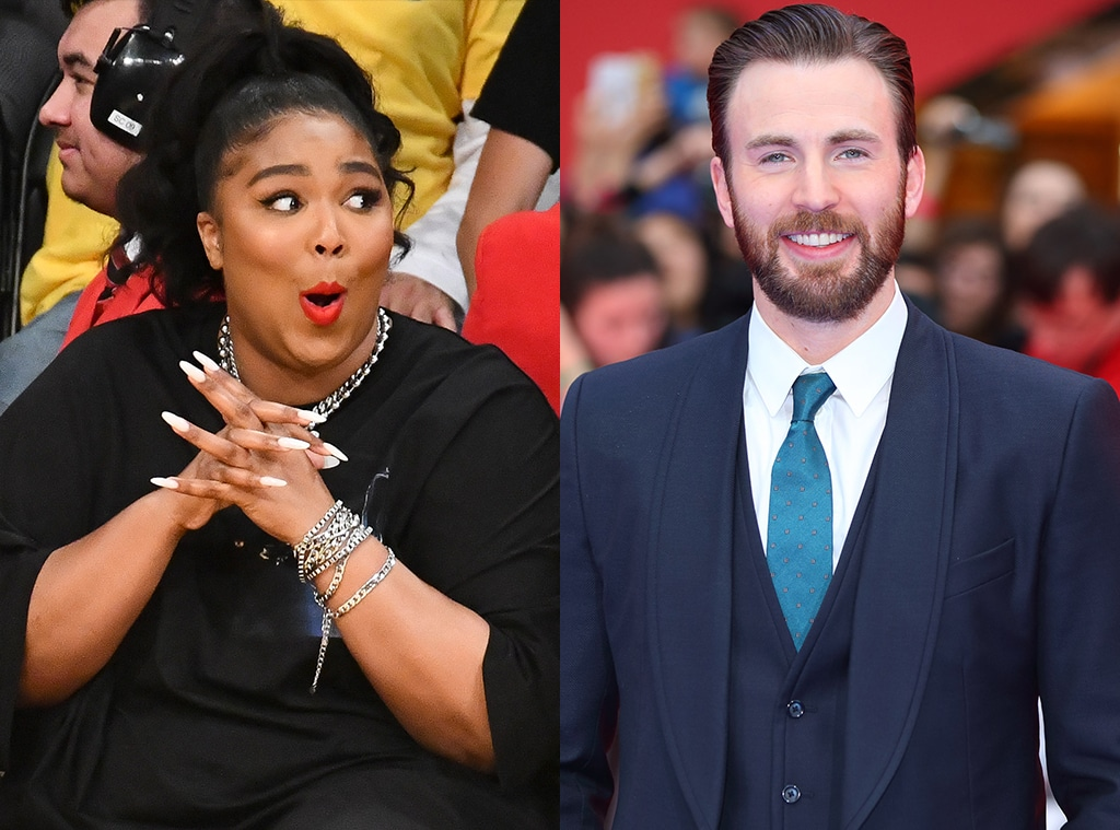 Chris Evans Responds to Lizzo's Drunk DM and Her Reaction Is Perfect - E!  Online - AP