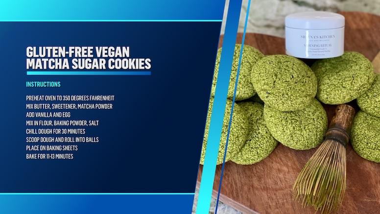Matcha Cookies Instructions
