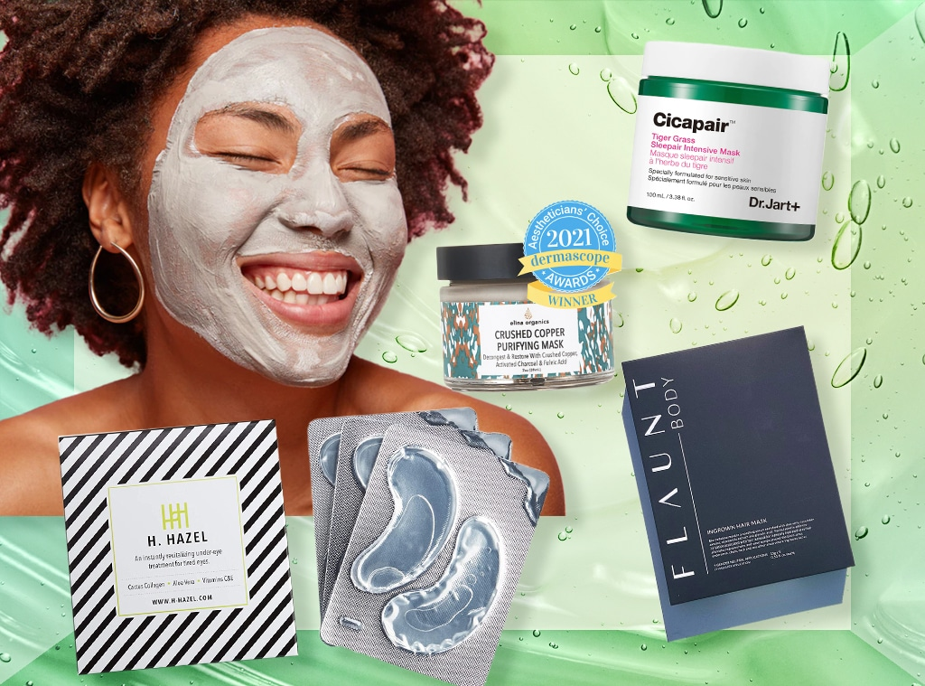 E-comm: Clean, Eco-Friendly Face and Skincare Masks