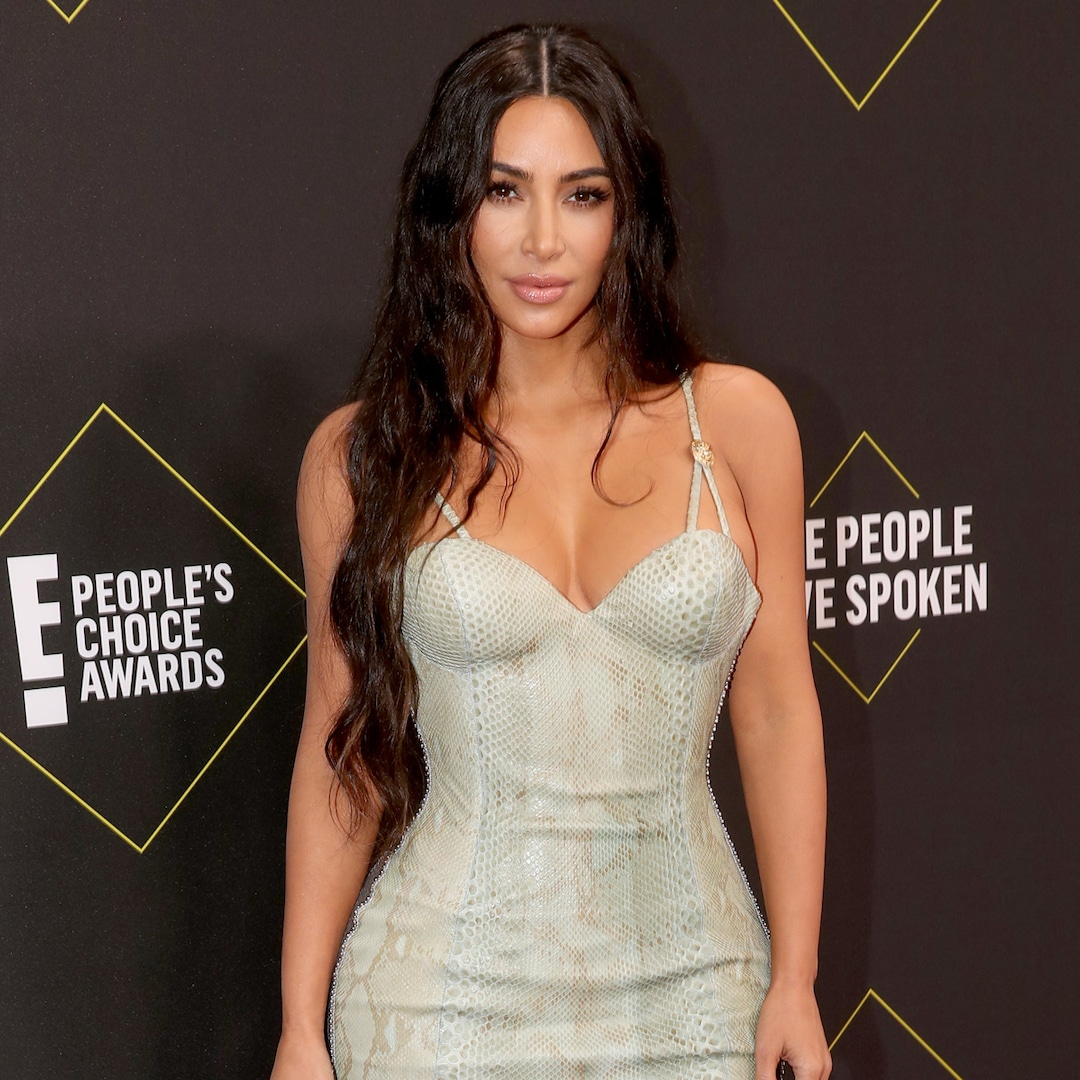 Kim Kardashian Looks Almost Unrecognizable With Blonde Hair and Bleached Eyebrows - E! NEWS
