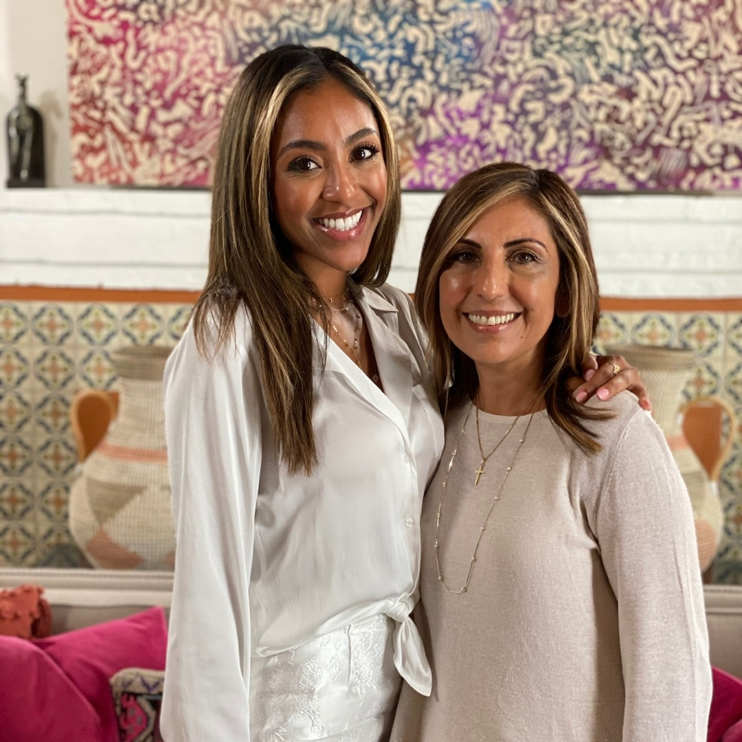Why Chatting With Tayshia Adams and Her Mom Rosario Left Us in Tears (the Good Kind!)
