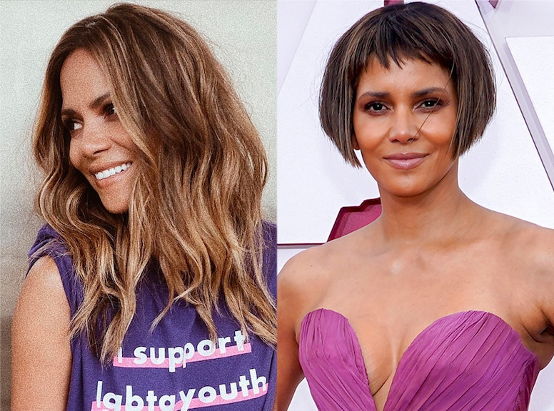 Halle Berry, 2021 Oscars, Hair Transformations