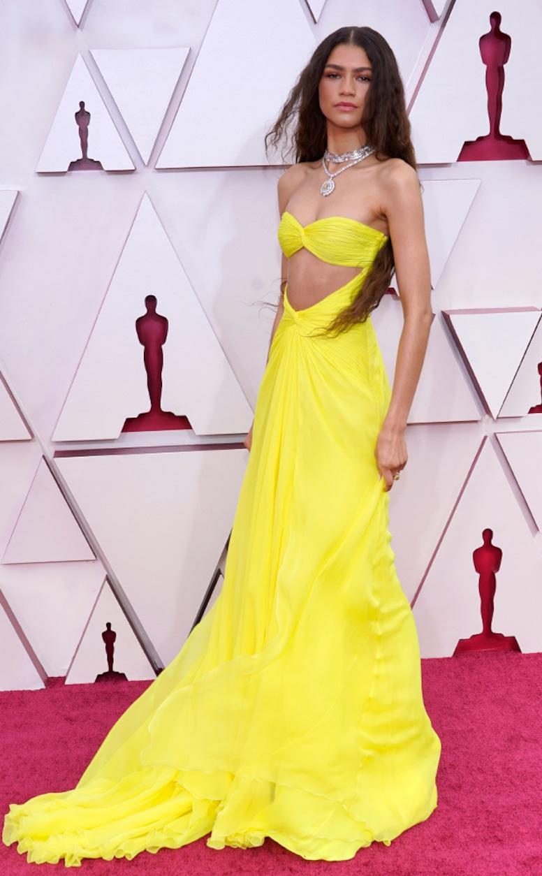 Zendaya, 2021 Oscars, 2021 Academy Awards, Red Carpet Fashion