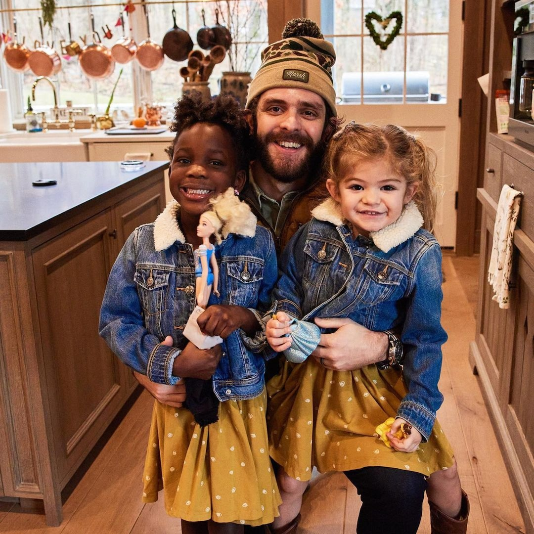 Thomas Rhett Lists All the Hilarious Ways He's Become a Stereotypical Dad