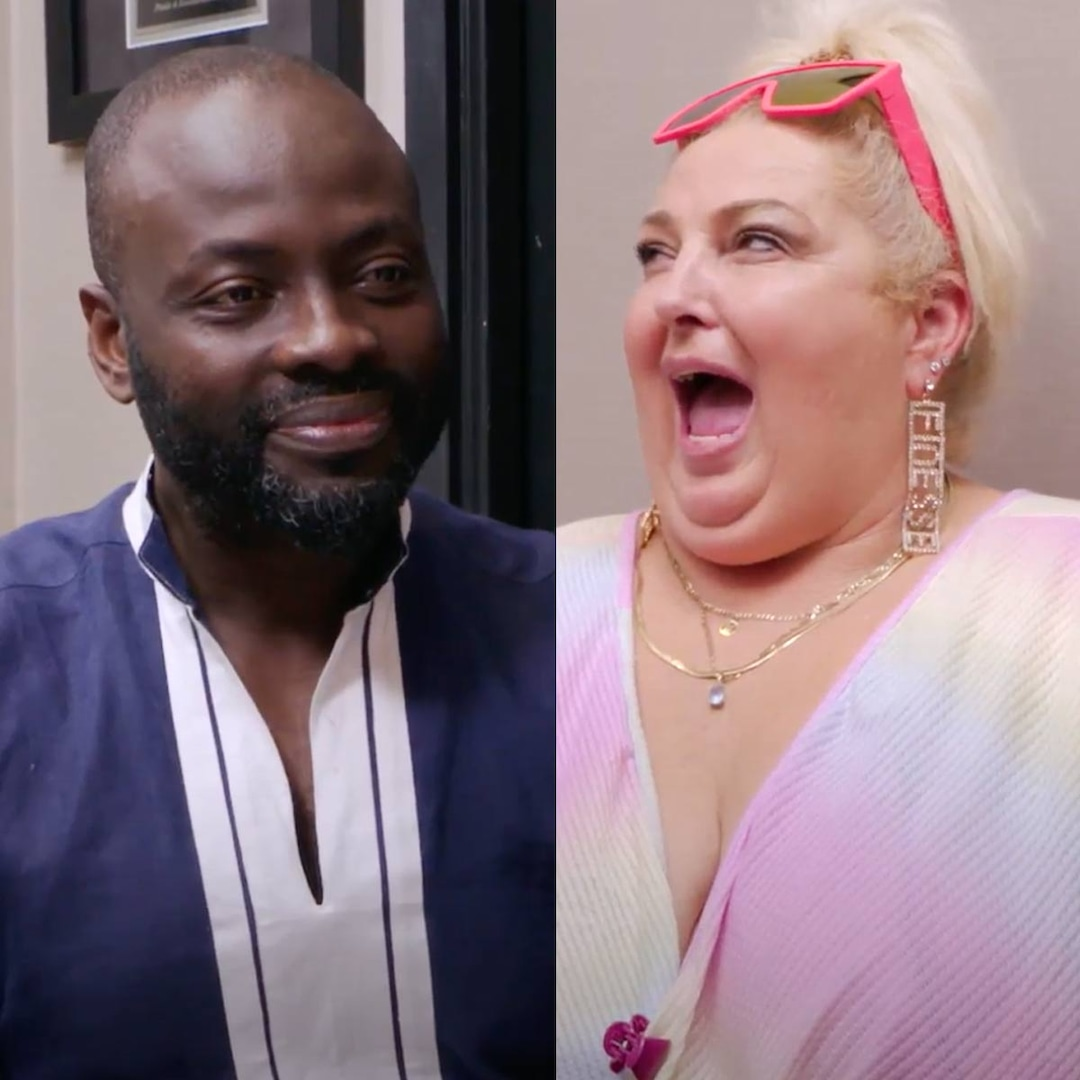 See 90 Day Fiancé: Happily Ever After?'s Angela Flirt With a Plastic Surgeon In Hilarious Preview