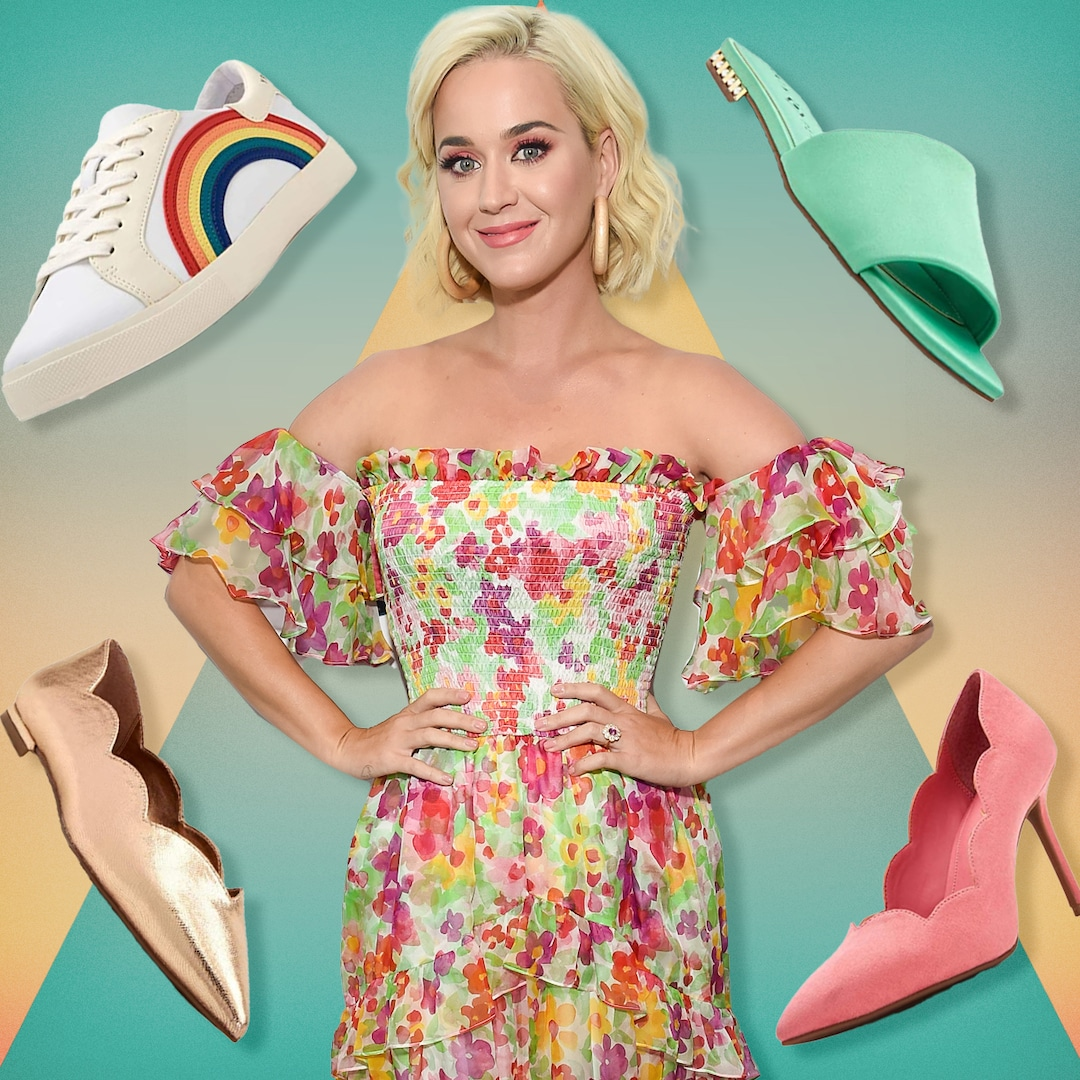 Katy Perry's Shoe Collection Makes Us Ready to Dress up Again