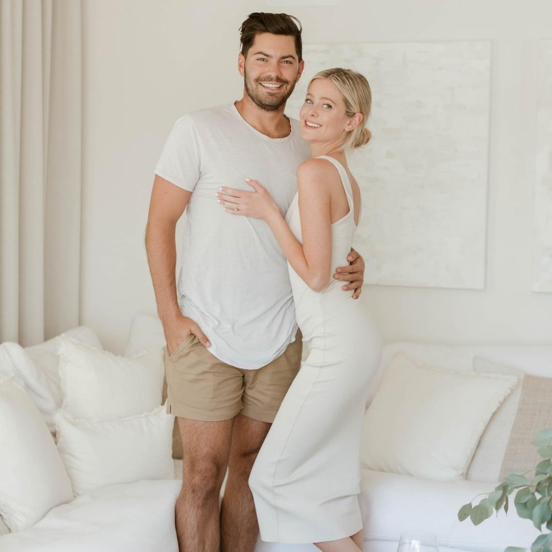 Bachelor Nation's Dylan Barbour and Hannah Godwin Reveal Their Dream Living Room Makeover - E! NEWS