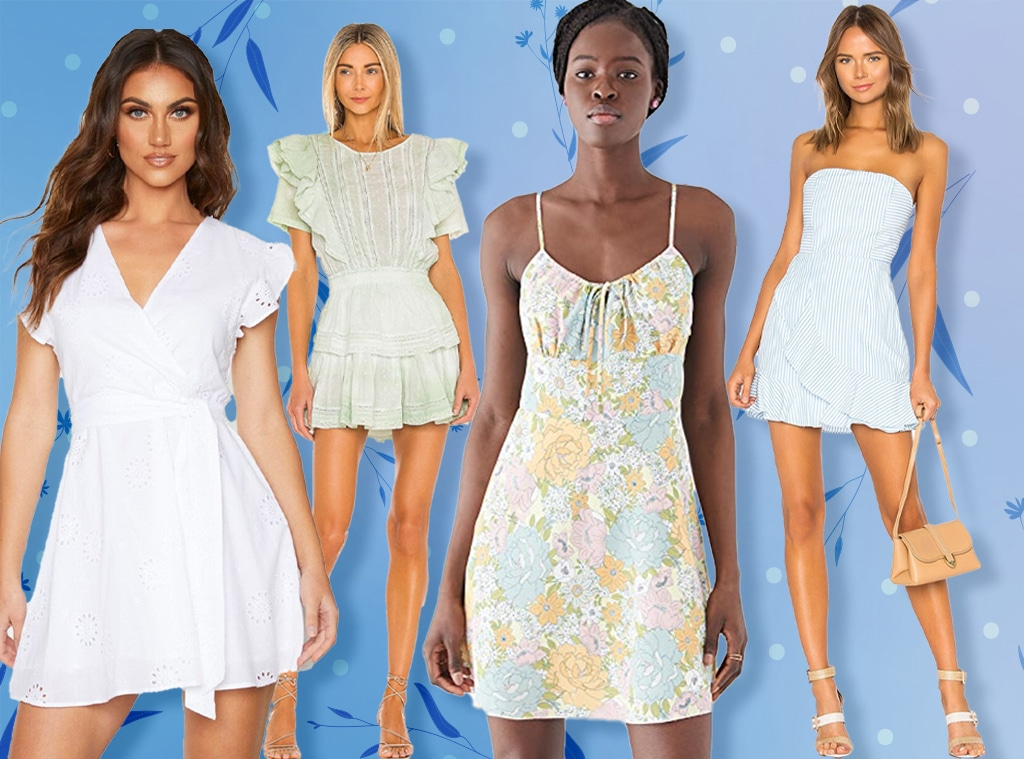 11 Graduation Dresses That Will Make Your Cap & Gown Look More Chic - E!  Online - AP