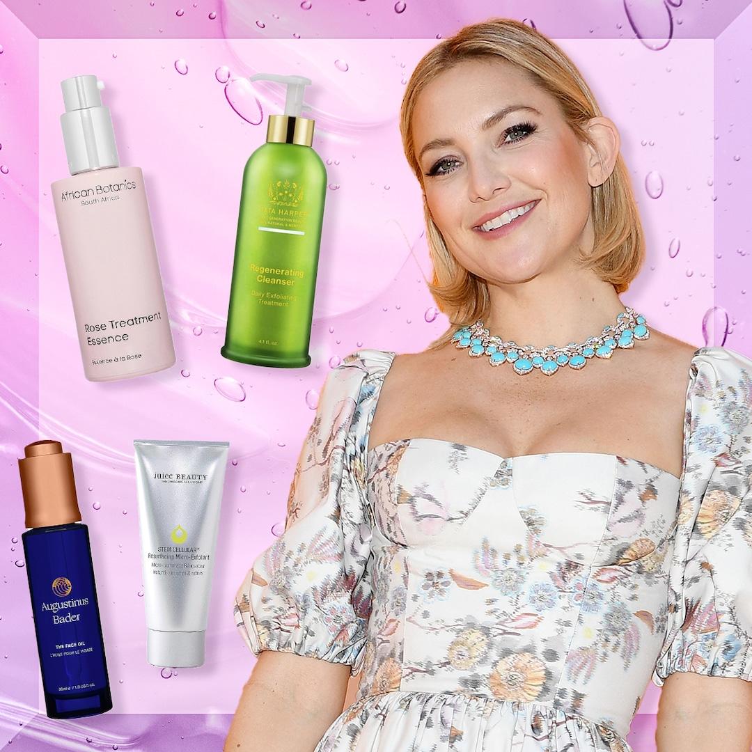 Kate Hudson Breaks Down Her Skincare Routine