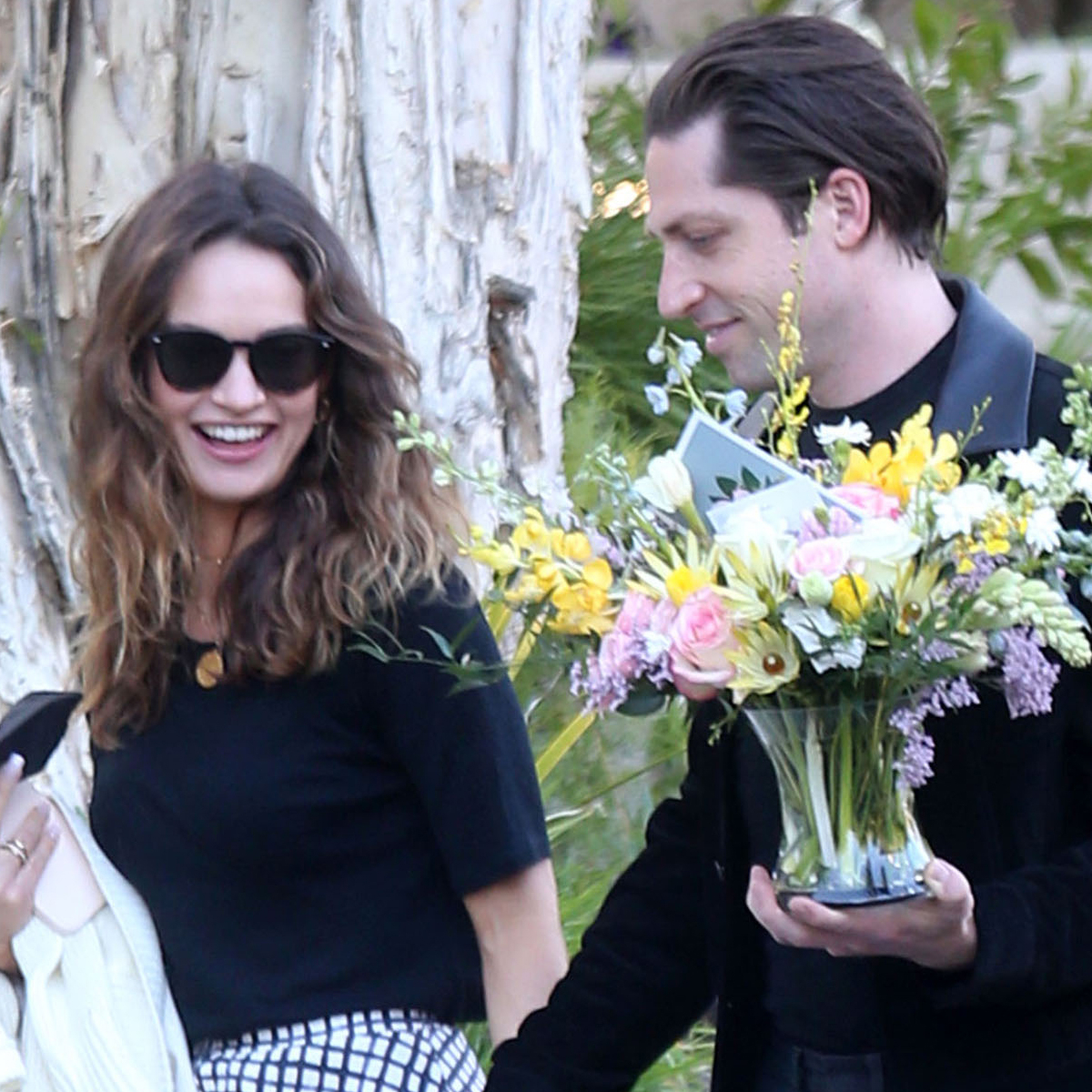 Lily James Confirms Romance With Michael Shuman After Dominic West Scandal