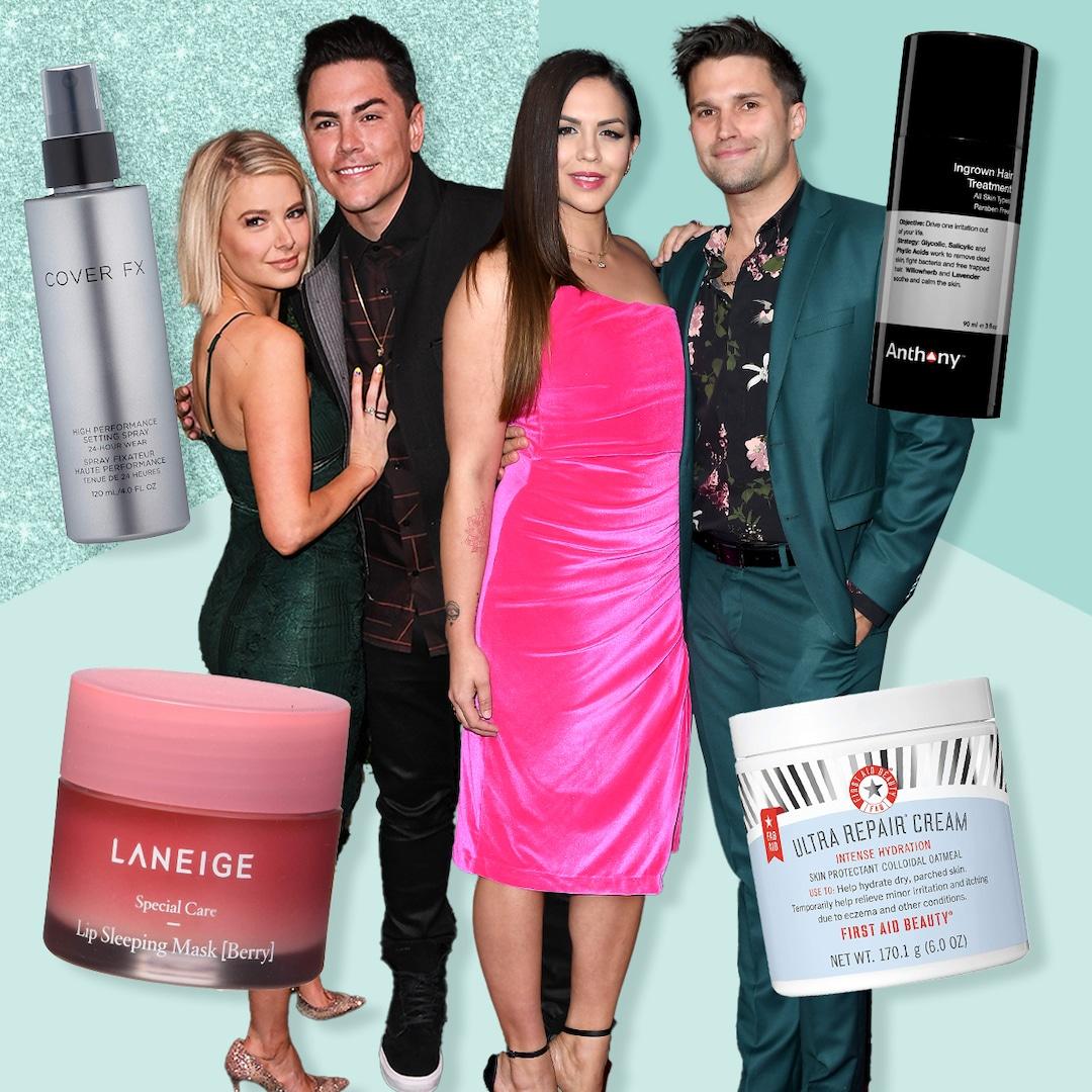 Tom Sandoval, Tom Schwartz, Katie Maloney & Ariana Madix Share Their Favorite Amazon Beauty Products
