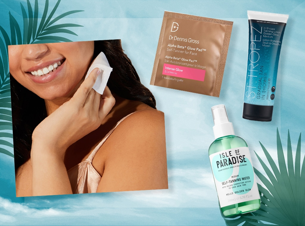 E-comm: Best Self Tanners