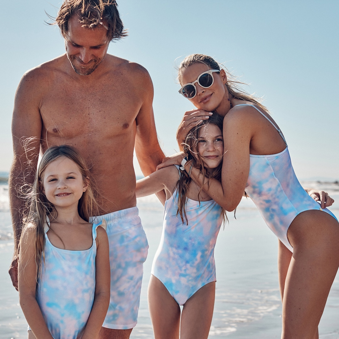 9 Super Cute Matching Swimsuits for the Whole Family