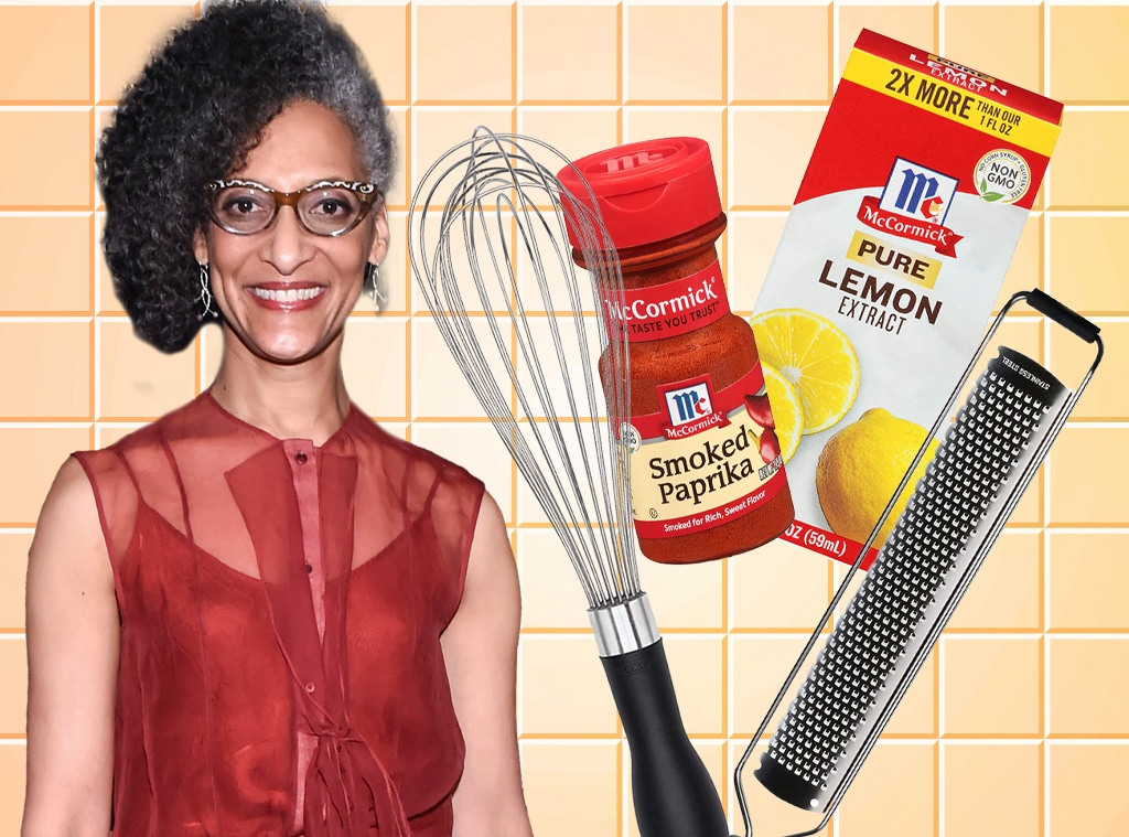 E-Comm: Whats in Carla Hall's Pantry?