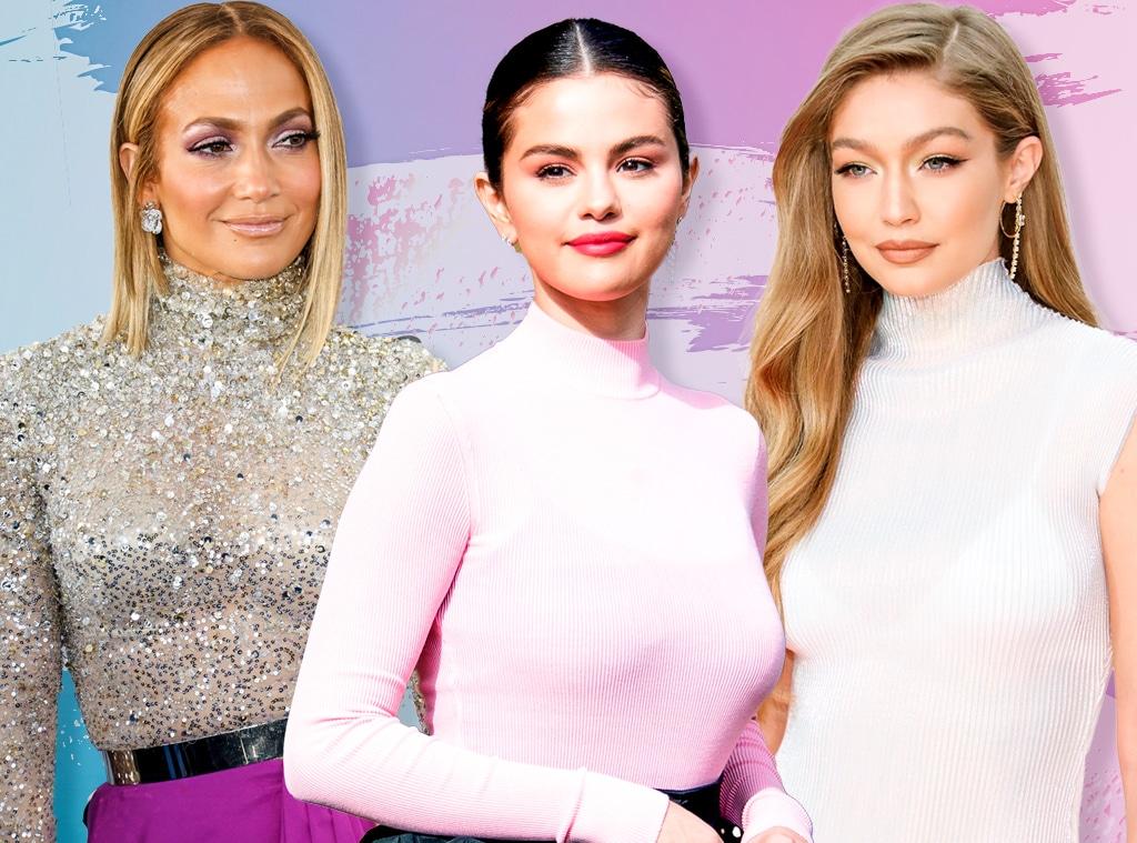 E-Comm: Celebrity Drugstore Beauty,  Selena Gomez, Jennifer Lopez, Gigi Hadid