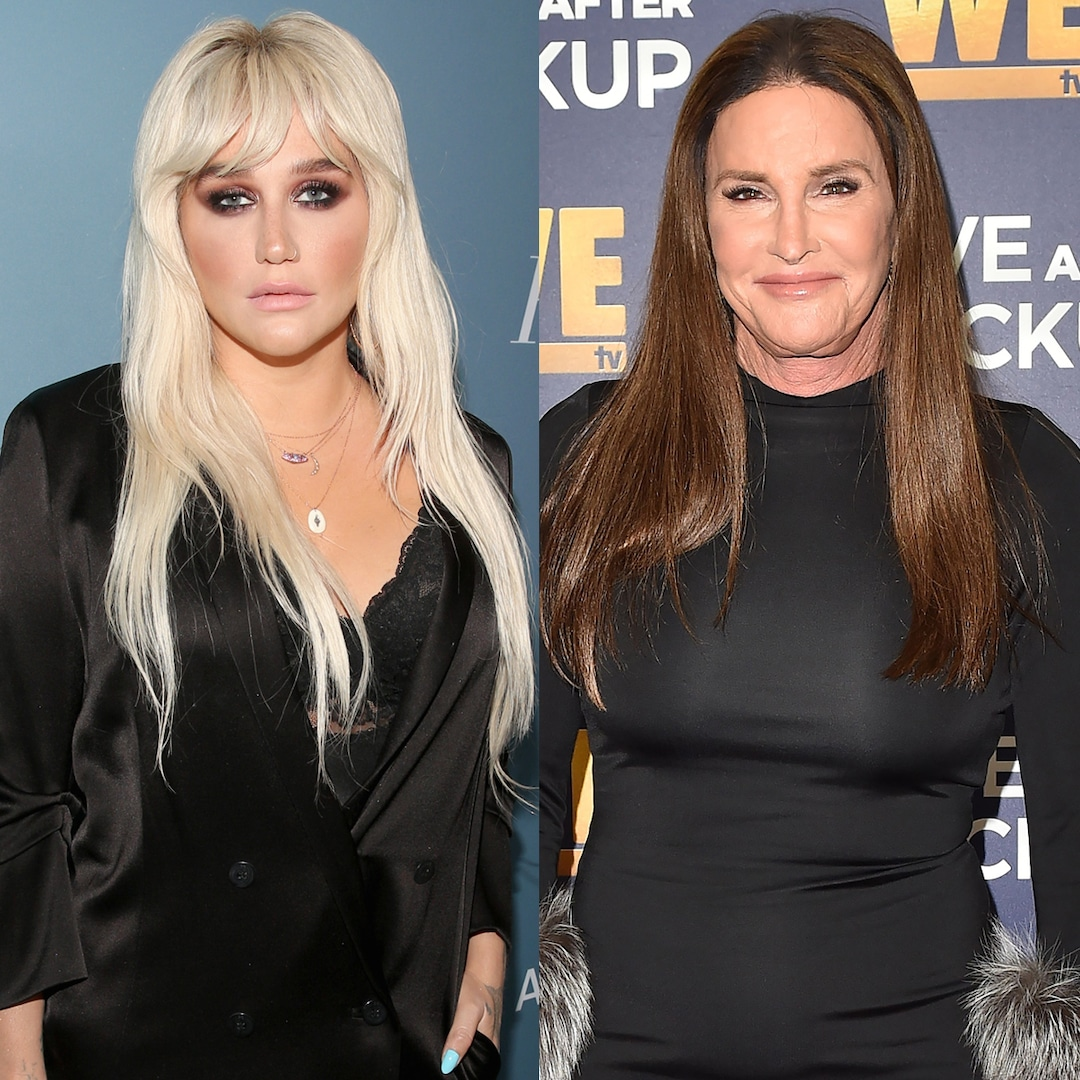 You Have to See Kesha React to Caitlyn Jenner's