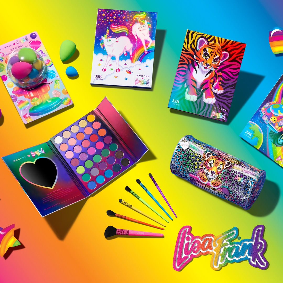 Hurry! The Morphe x Lisa Frank Collection Is Back in Stock
