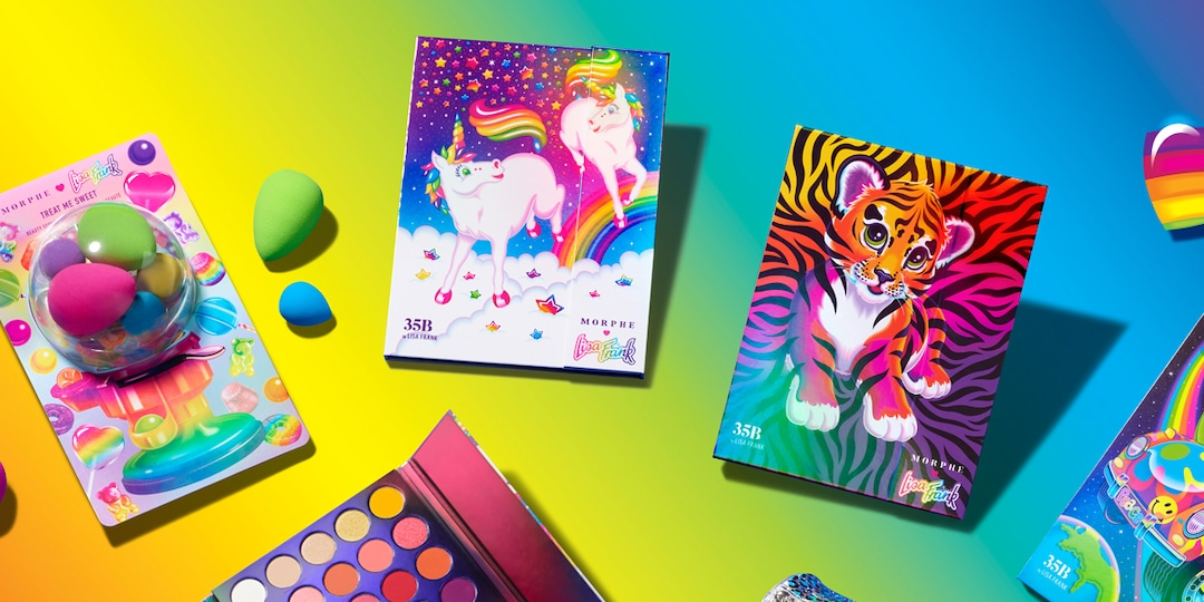 Hurry! The Morphe x Lisa Frank Collection is Back in Stock - E! Online.jpg