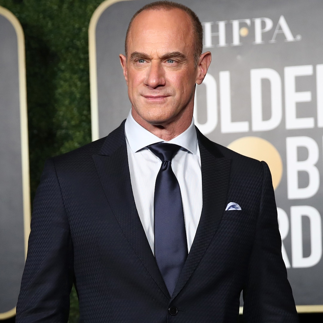 """Watch Christopher Meloni Revel in Being the """"Zaddy of the Moment"""" – E! Online"""