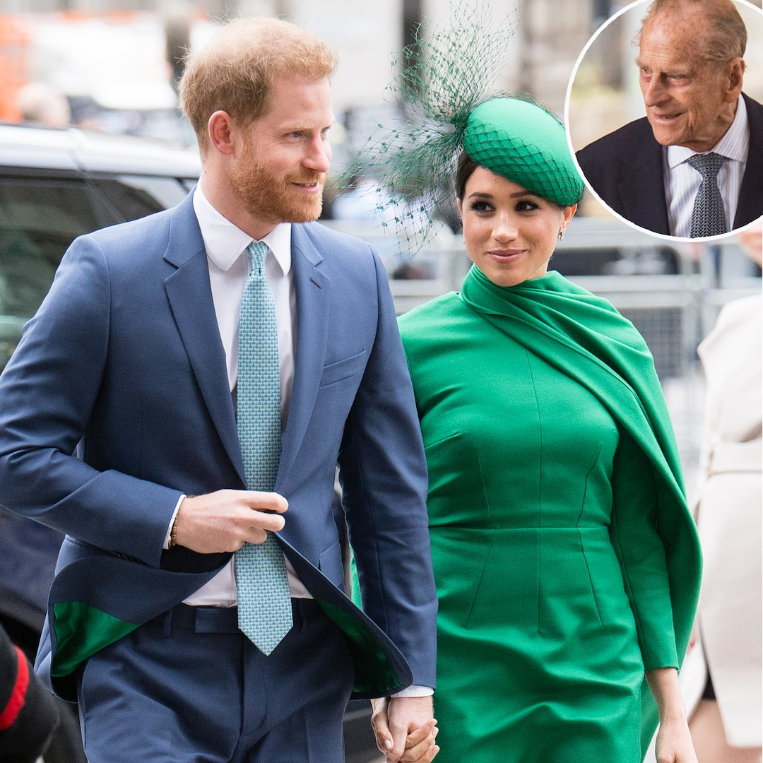 The Special Meaning Behind Meghan Markle and Prince Harry's Funeral Wreath for Prince Philip