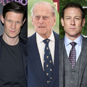 Matt Smith, Tobias Menzies, Prince Philip
