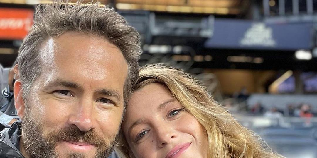 Blake Lively and Ryan Reynolds Enjoy a Yankee Game Date Night - E! Online.jpg