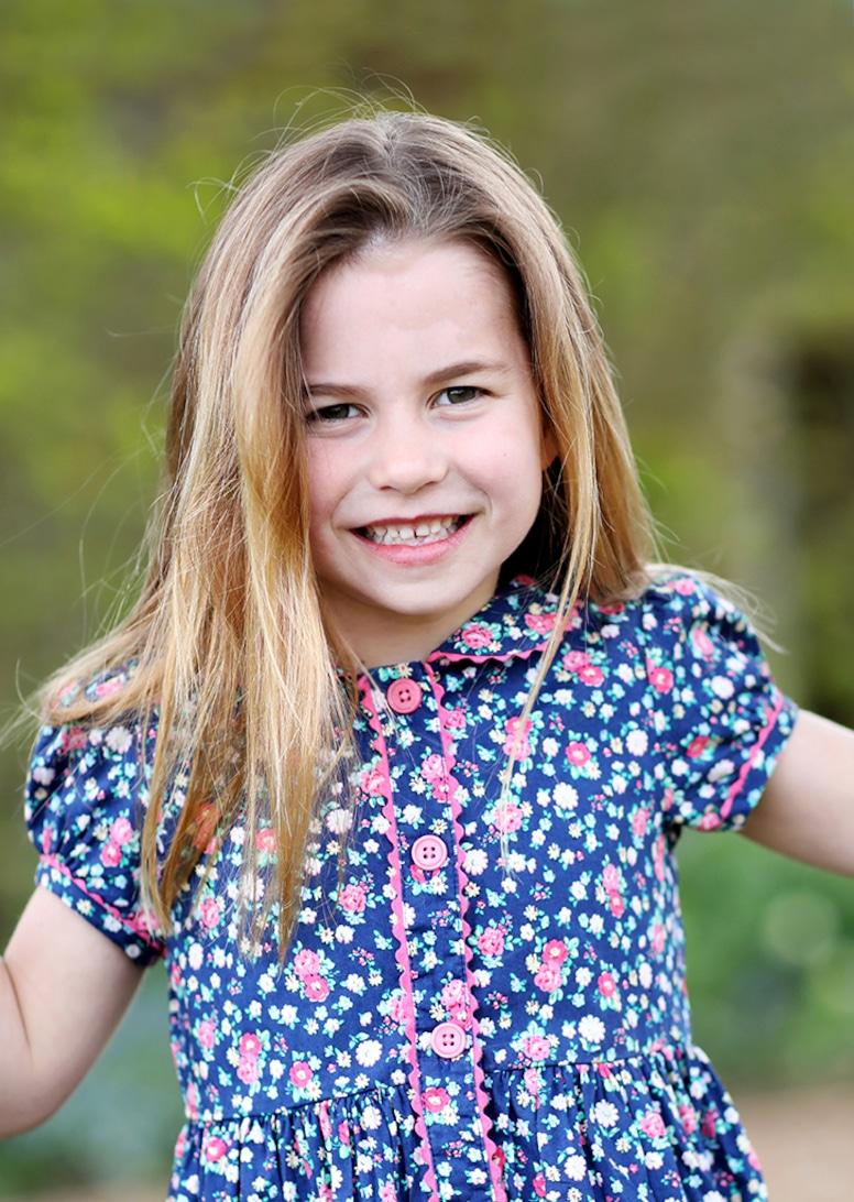 Princess Charlotte, sixth birthday