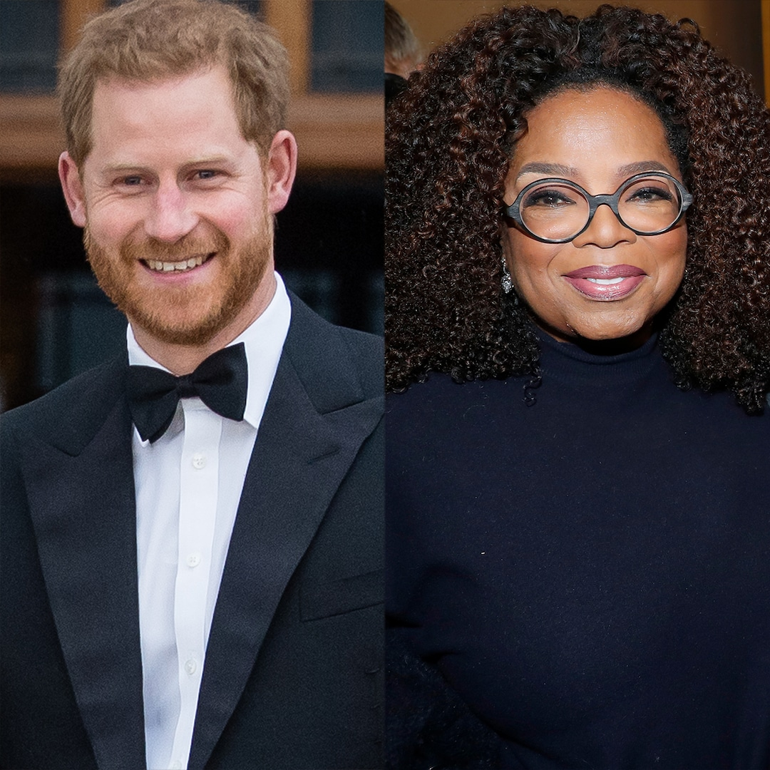 Prince Harry and Oprah Winfrey's Docuseries on Mental Health Gets Premiere Date
