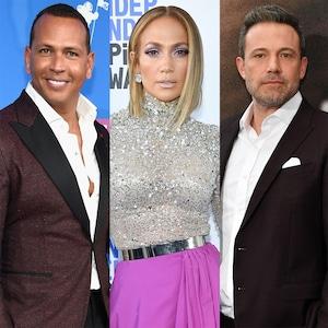 Alex Rodriguez, Jennifer Lopez, Ben Affleck