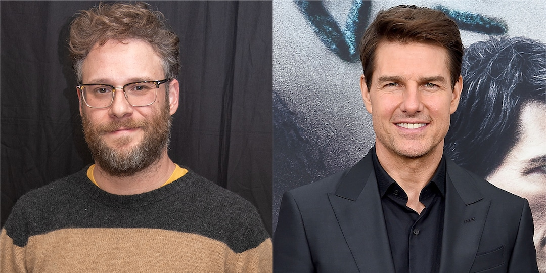 "Seth Rogen's ""Bizarre"" Meeting With Tom Cruise Included Him Peeing in a Snapple Bottle - E! Online.jpg"