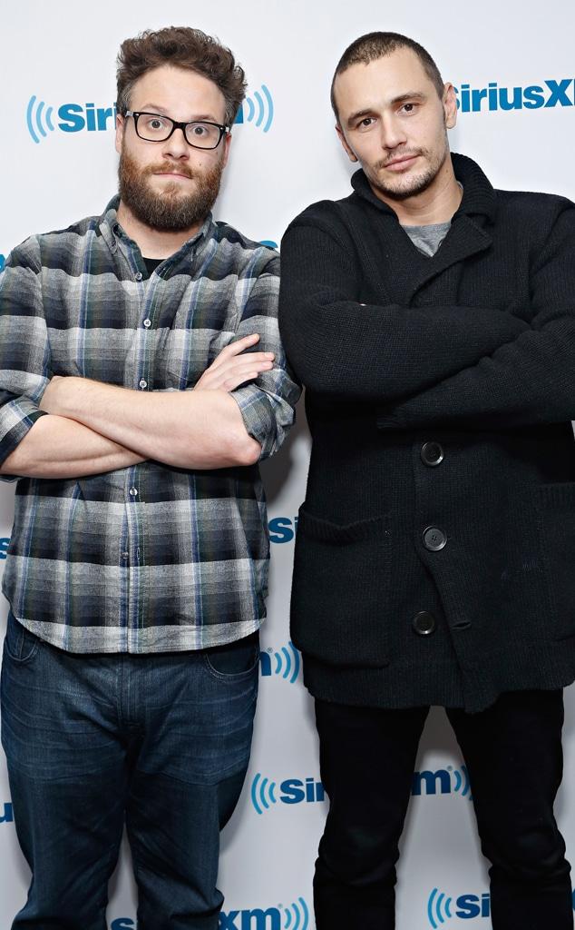 Seth Rogen, James Franco