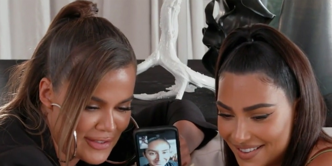 Khloe & Kim Kardashian Try to Uncover the Truth About the Nori's Black Book Instagram on KUWTK - E! Online.jpg