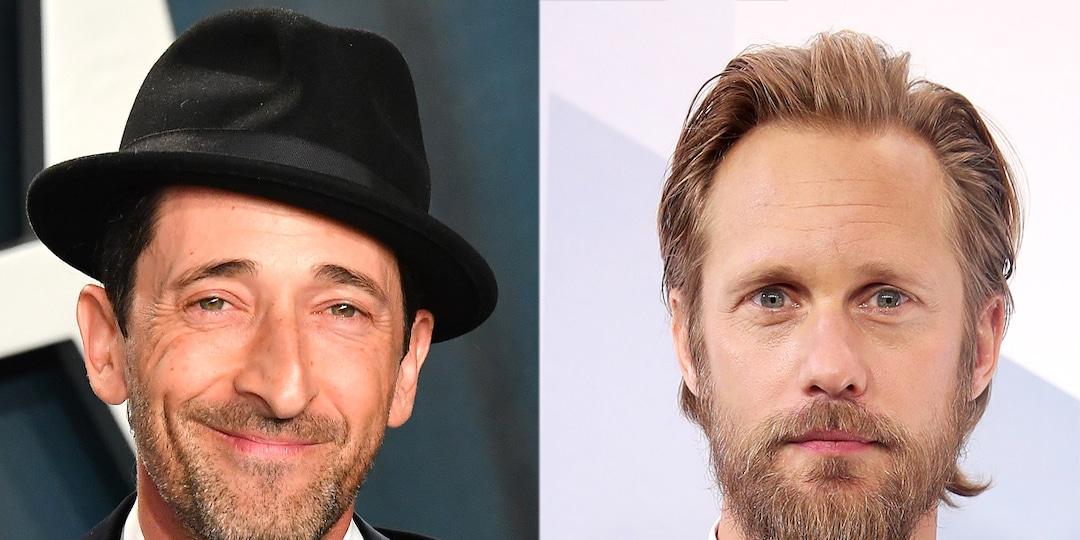 See Alexander Skarsgård & Adrien Brody in Tense Succession Season 3 Trailer - E! Online.jpg