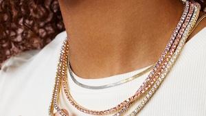 E-Comm: BaubleBar New Tennis Necklaces
