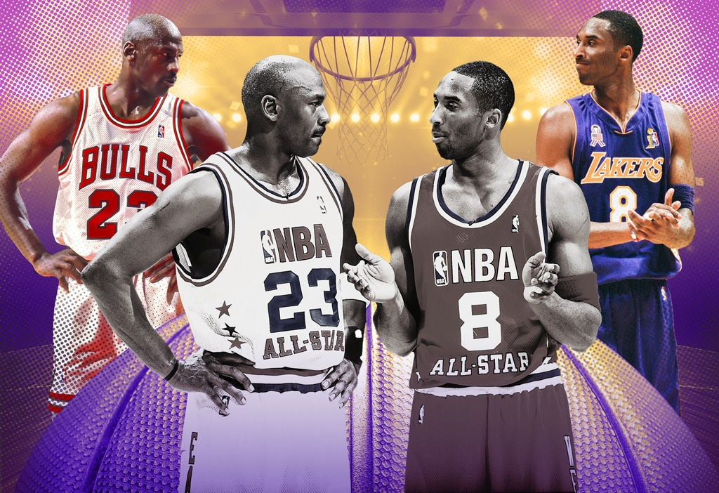 Kobe Bryant, Michael Jordan, Hall of Fame Induction Feature