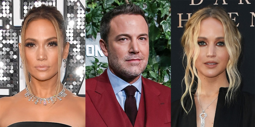 "Listen to Jennifer Lawrence Share the ""Breaking F--king News"" of Ben Affleck and Jennifer Lopez Reunion - E! Online.jpg"