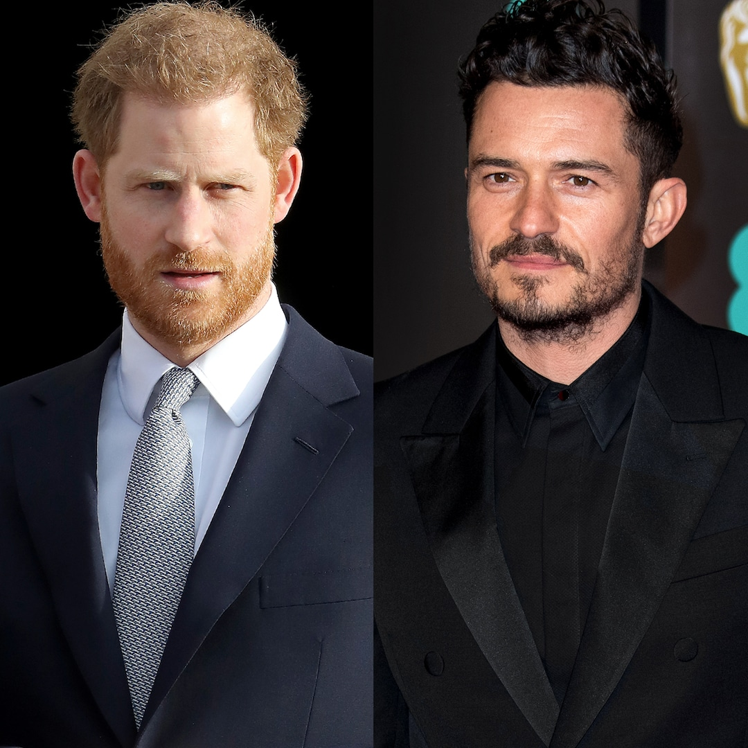 Prince Harry Reveals How Neighbor Orlando Bloom Helps Protect Him From Paparazzi