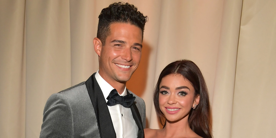 "Sarah Hyland Shares Sweet Birthday Tribute to Her ""Sugar Balls,"" a.k.a. Fiancé Wells Adams - E! Online.jpg"
