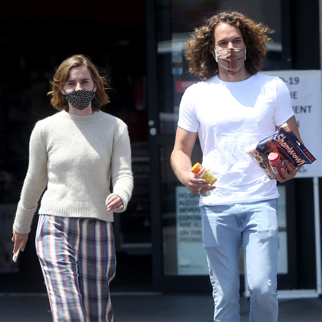 Emma Watson and Boyfriend Leo Robinton Make Rare Appearance Together in L.A.