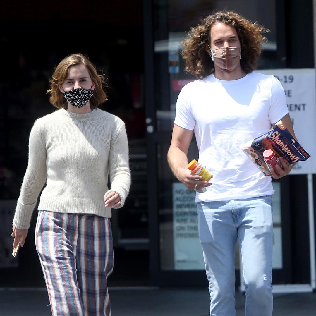 Emma Watson and boyfriend Leo Robinton make a rare appearance in  LA-E!online - Eminetra Canada