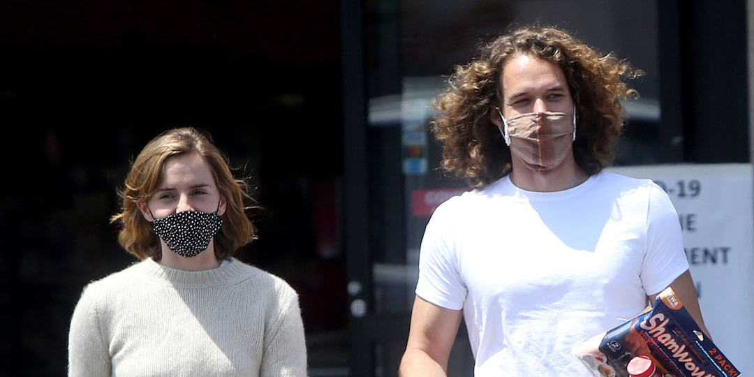 Emma Watson and Boyfriend Leo Robinton Make Rare Appearance Together in L.A. - E! Online.jpg